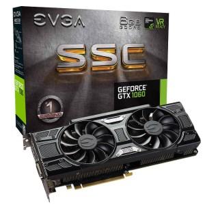 EVGA GeForce GTX 1060 SSC 6GB GDDR5 Graphics Card (06G-P4-6267-KR)