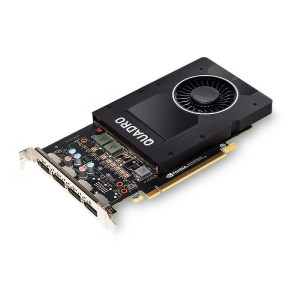 PNY Quadro P2000 5GB GDDR5 Graphics Card (VCQP2000-PB)