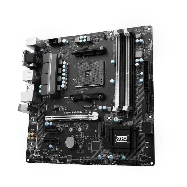 MSI B350M BAZOOKA Socket AM4 AMD B350 DDR4 Micro ATX Motherboard (B350M BAZOOKA)
