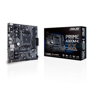 ASUS MB PRIME A320M-K Socket AM4 AMD A320 DDR4 Micro ATX Motherboard (90MB0TV0-M0EAY0)