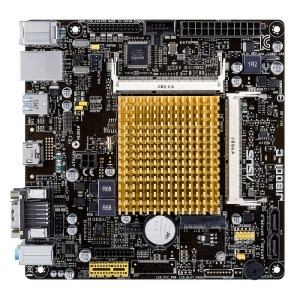ASUS J1800I-C/CSM Integrated CPU Intel J1800I DDR3L Mini ITX Motherboard (90MB0J60-M0EAYC)
