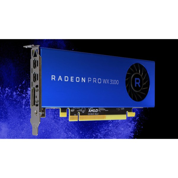 AMD Radeon Pro WX 3100 4GB GDDR5 Graphics Card (100-505999)