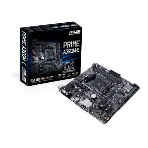 ASUS PRIME A320M-E Socket AM4 AMD A320 DDR4 Micro ATX Motherboard (90MB0V10-M0EAY0)