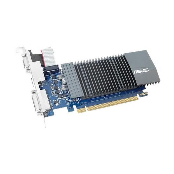 ASUS GeForce GT 710 Low Profile Silent 2GB GDDR5 Graphics Card (GT710-SL-2GD5)