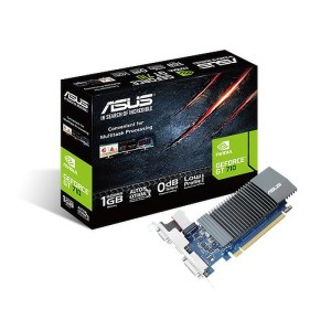 ASUS GeForce GT 710 Silent 1GB GDDR5 Graphics Card (GT710-SL-1GD5)