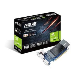 ASUS GeForce GT 710 Silent 1GB GDDR5 Graphics Card (GT710-SL-1GD5)