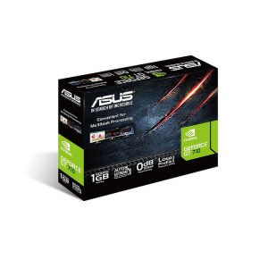 ASUS GeForce GT 710 Silent 1 GB GDDR5 Graphics Card (90YV0AL2-M0NA00)