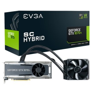 EVGA GeForce GTX 1070 GAMING SC HYBRID 8 GB GDDR5 Graphics Card (08G-P4-5678-KR)