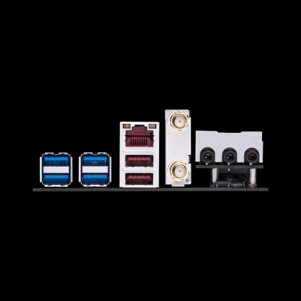 ASUS ROG STRIX B350-I GAMING Socket AM4 AMD B350 DDR4 Mini ITX Motherboard (90MB0VD0-M0EAY0)