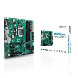 ASUS Q370M-C LGA 1151 Intel Q370 DDR4 Mini ITX Motherboard (90MB0W70-M0EAYM)