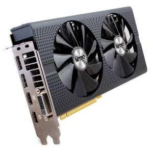 Sapphire Radeon RX 470 Nitro D5 OC 8GB GDDR5 Graphics Card (11256-57-10G)