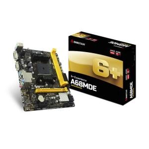 Biostar A68MDE Socket FM2+ AMD A68H DDR3 Micro ATX Motherboard (A68MDE)