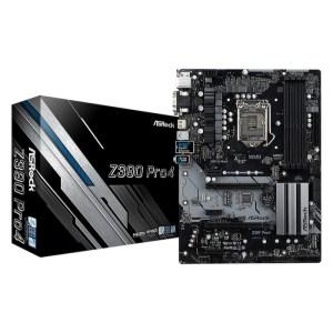 ASRock Z390 PRO4 LGA 1151 Intel Z390 DDR4 ATX Motherboard (Z390 PRO4)