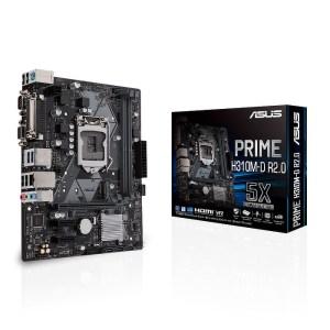 ASUS PRIME H310M-D R2.0 LGA 1151 Intel H310 DDR4 Micro ATX Motherboard (90MB0YZ0-M0EAY0)