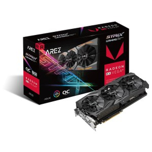 ASUS Radeon RX VEGA 64 Arez Strix Gaming OC 8 GB HBM2 Graphics Card (AREZ-STRIX-RXVEGA64-O8G-GAMING)