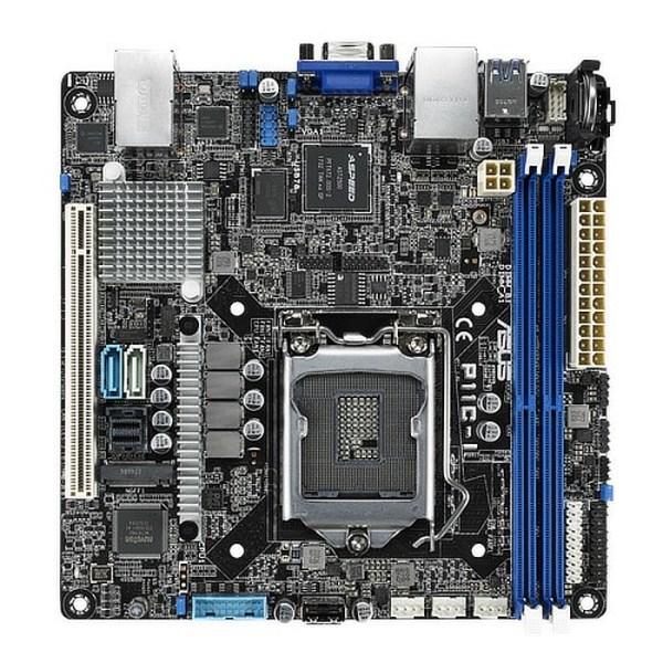 ASUS P11C-I LGA 1151 Intel DDR4 Mini ITX Motherboard (90SB06T0-M0UAY0)