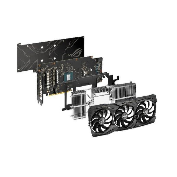 ASUS GeForce GTX 1660 Ti ROG Strix Gaming 6 GB GDDR6 Graphics Card (90YV0CQ1-M0NA00)