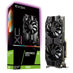 EVGA GeForce GTX 1660 Ultra Gaming 6GB GDDR6 Graphics Card (06G-P4-1167-KR)