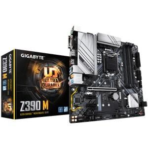 Gigabyte Z390 M LGA 1151 Intel Z390 DDR4 Micro ATX Motherboard (Z390 M)