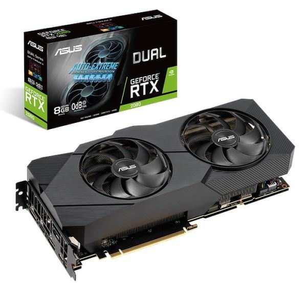 ASUS GeForce RTX 2080 DUAL EVO 8 GB GDDR6 Graphics Card (90YV0CL2-M0NM00)