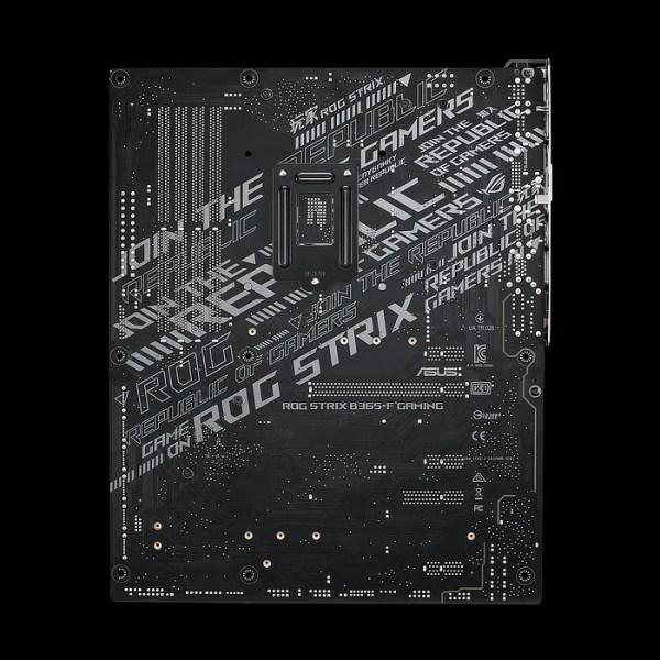 ASUS ROG STRIX B365-F GAMING LGA 1151 Intel B365 DDR4 ATX Motherboard (90MB11I0-M0EAY0)