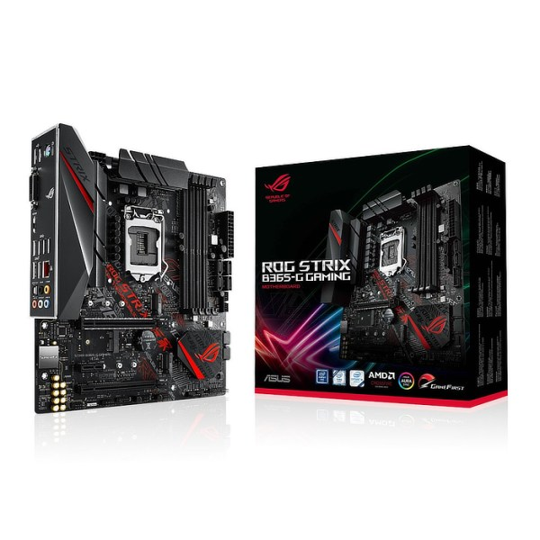 ASUS ROG STRIX B365-G GAMING LGA 1151 Intel B365 DDR4 Micro ATX Motherboard (90MB11G0-M0EAY0)