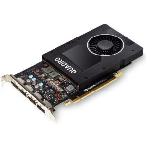 PNY Quadro P2200 5 GB GDDR5X Graphics Card (VCQP2200-PB)