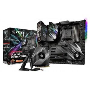 MSI Prestige X570 Creation Socket AM4 AMD X570 DDR4 Extended ATX Motherboard (PRESTIGE X570 CREATION)