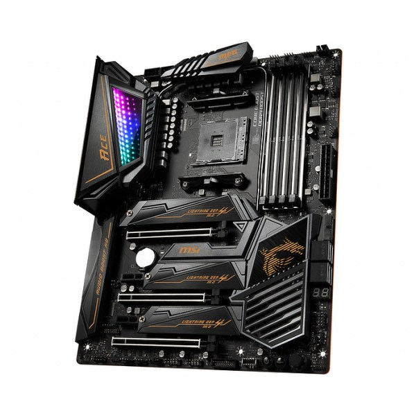 MSI MEG X570 ACE Socket AM4 AMD X570 DDR4 ATX Motherboard (MEG X570 ACE)