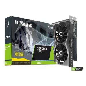 Zotac GeForce GTX 1650 AMP 4 GB GDDR5 Graphics Card (ZT-T16500D-10L)