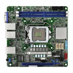 ASRock E3C246D2I LGA 1151 Intel C246 DDR4 Mini ITX Motherboard (E3C246D2I)
