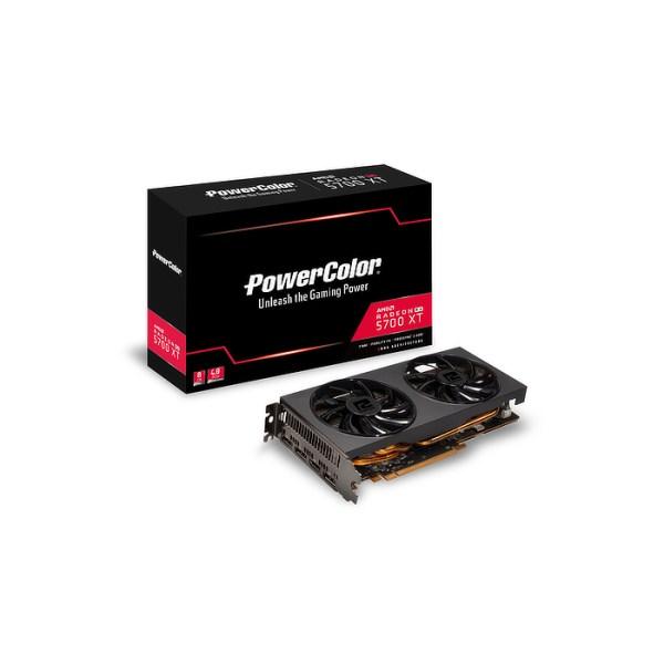 PowerColor Radeon RX 5700 XT DUAL 8 GB GDDR6 Graphics Card (AXRX 5700XT 8GBD6-3DH)