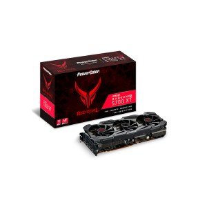 PowerColor Radeon RX 5700 XT Red Devil 8 GB GDDR6 Graphics Card (AXRX 5700XT 8GBD6-3DHE/OC)