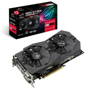ASUS Radeon RX 570 ROG Strix Gaming 8 GB GDDR5 Graphics Card (90YV0AJ9-M0NA00)