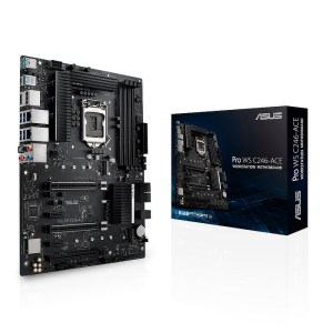 ASUS Pro WS C246-ACE LGA 1151 Intel C246 DDR4 ATX Motherboard (90MB1220-M0EAY0)