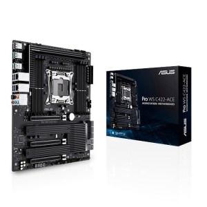 ASUS Pro WS C422-ACE LGA 2066 Intel DDR4 ATX Motherboard (90MB11Y0-M0EAY0)
