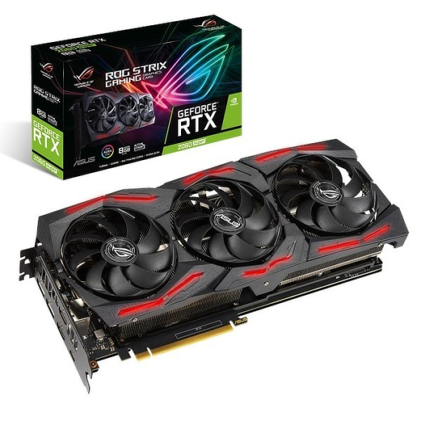 ASUS GeForce RTX 2060 SUPER ROG Strix Gaming EVO OC 8 GB GDDR6 Graphics Card (90YV0DQ2-M0NA00)