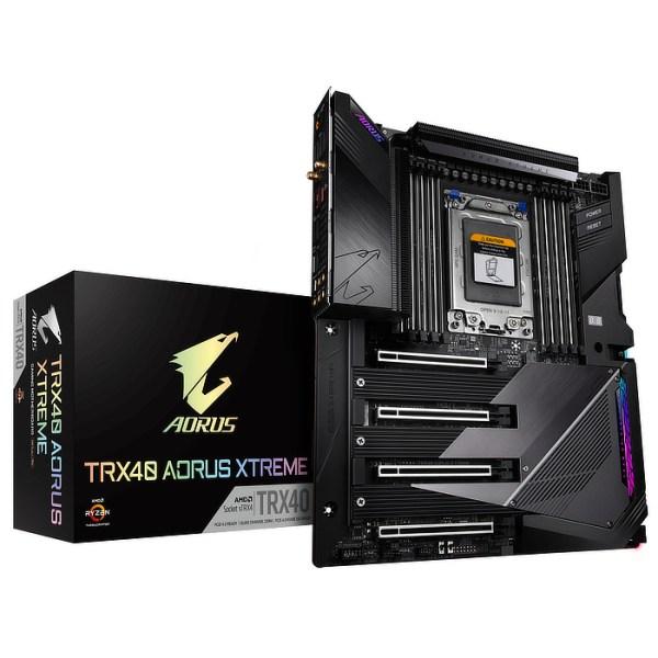 Gigabyte TRX40 AORUS XTREME sTRX4 AMD TRX40 DDR4 XL-ATX Motherboard (TRX40 AORUS XTREME)