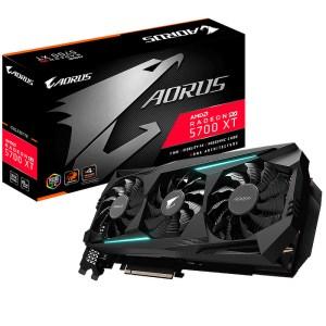 Gigabyte Radeon RX 5700 XT AORUS 8 GB GDDR6 Graphics Card (GV-R57XTAORUS-8GD)