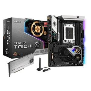 ASRock TRX40 Taichi sTRX4 AMD TRX40 DDR4 ATX Motherboard (TRX40 TAICHI)