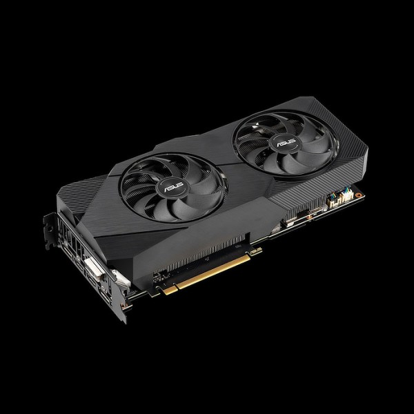 ASUS GeForce RTX 2060 SUPER DUAL EVO V2 8 GB GDDR6 Graphics Card (90YV0DZ2-M0NA00)