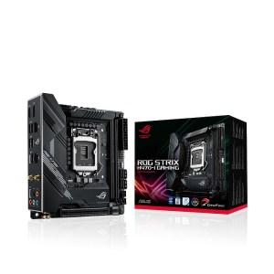 ASUS ROG STRIX H470-I GAMING LGA 1200 Intel H470 DDR4 Mini ITX Motherboard (90MB12U0-M0EAY0)