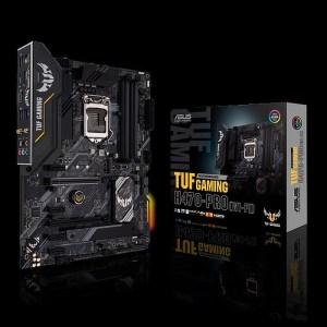 ASUS TUF GAMING H470-PRO WIFI LGA 1200 Intel H470 DDR4 ATX Motherboard (90MB13B0-M0EAY0)
