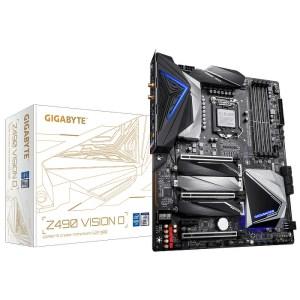 Gigabyte Z490 VISION D (rev. 1.x) LGA 1200 Intel Z490 DDR4 ATX Motherboard (Z490 VISION D)