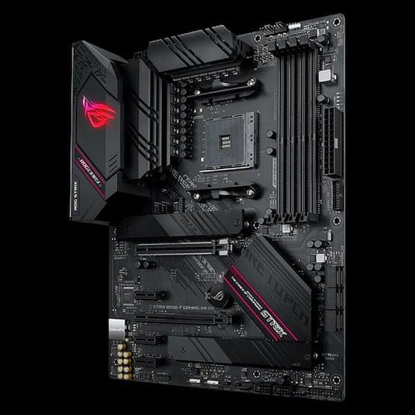 ASUS ROG STRIX B550-F GAMING(WI-FI) Socket AM4 AMD B550 DDR4 ATX Motherboard (90MB14F0-M0EAY0)