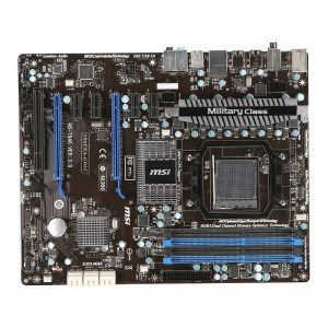 MSI 990FXA-GD65 Socket AM3 AMD 990FX DDR3 ATX Motherboard (990FXA-GD65)