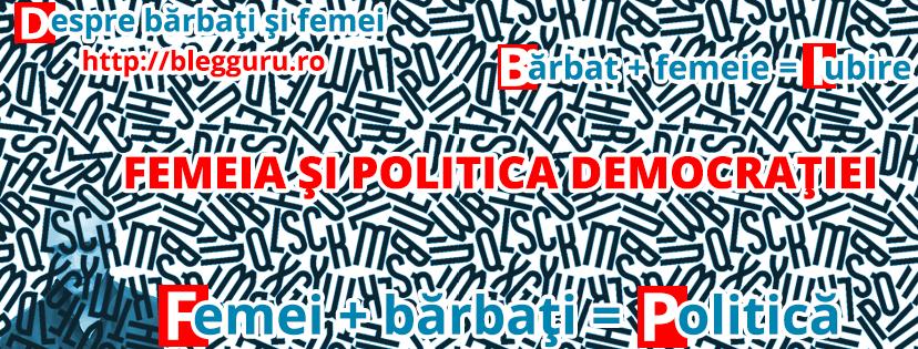 Femeia şi politica democraţiei