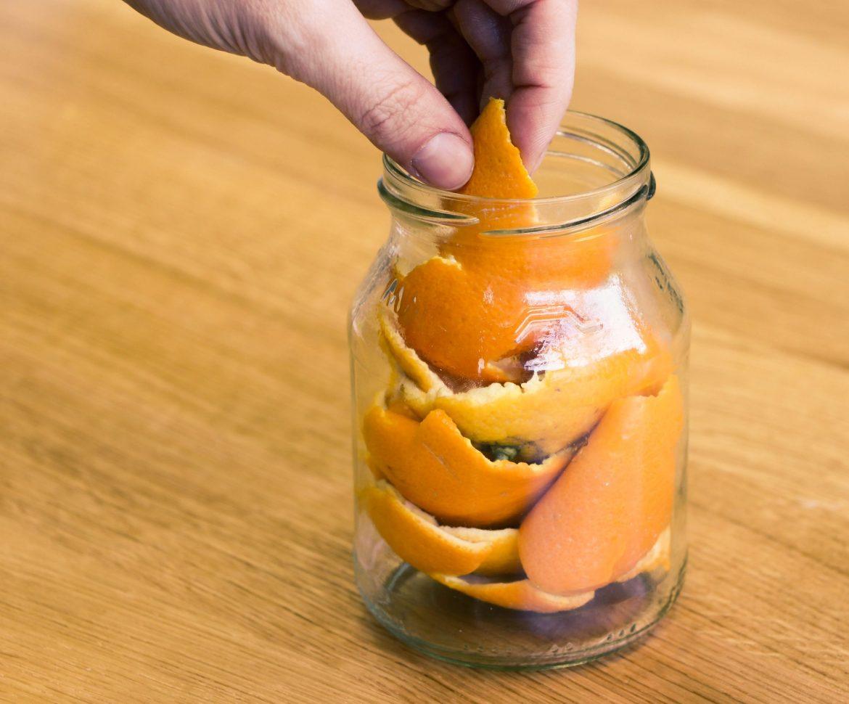 Orangen Essig Reiniger selber machen