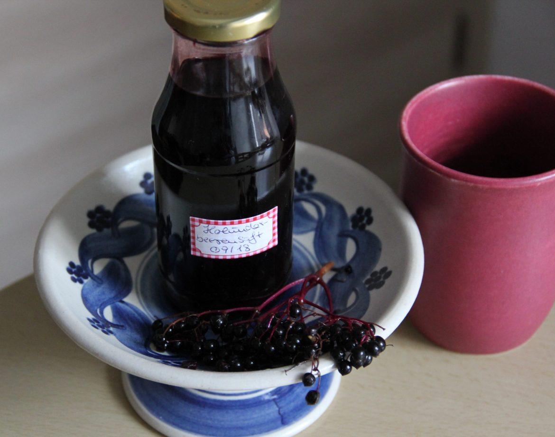 zuckerfreier Holunderbeersaft
