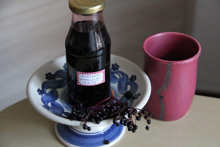 Holunderbeersaft zuckerfrei selber machen